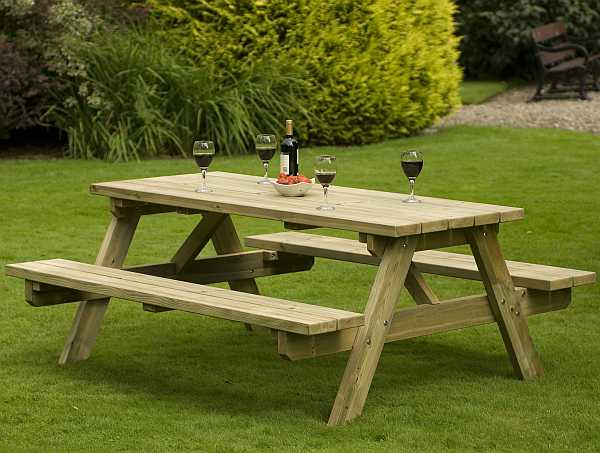 Atholl A Frame 8 Seat Picnic Table