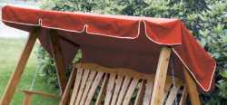 Canopy 3 Seater Red