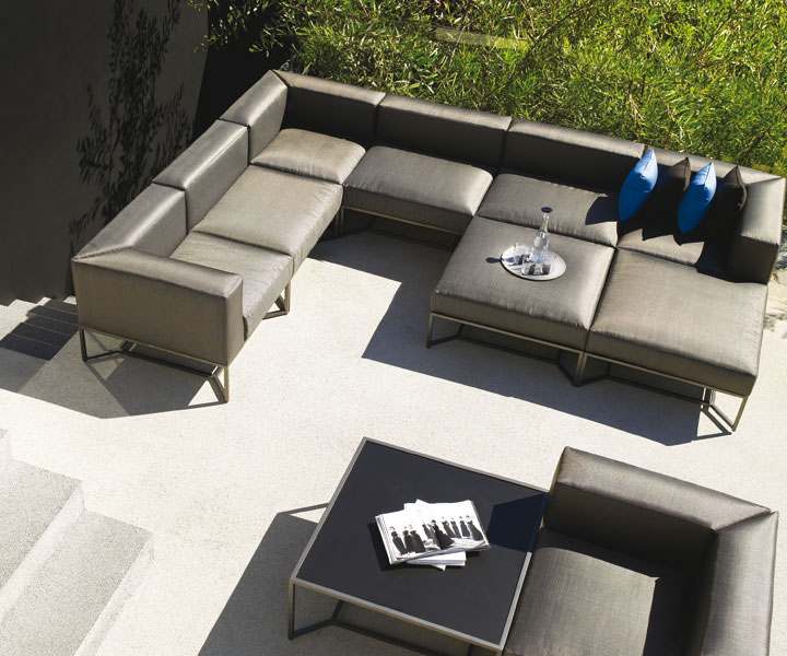 gloster bloc outdoor modular set - Garden Furniture 2016 Uk
