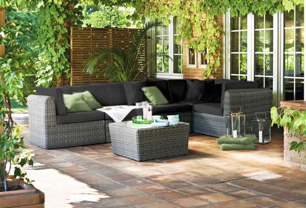 Adriano Modualar Outdoor Lounge Set
