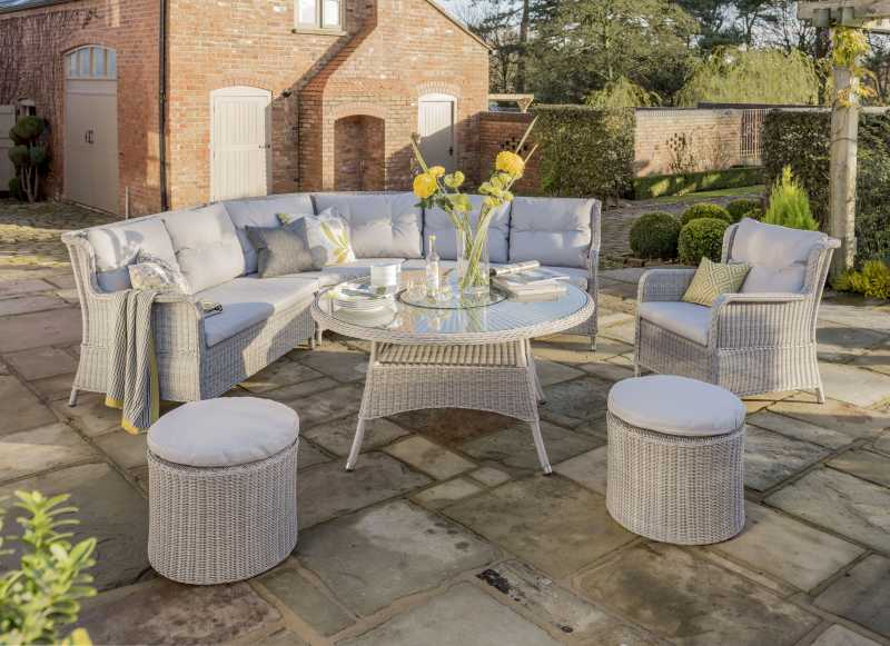 king corner outdoor lounge set