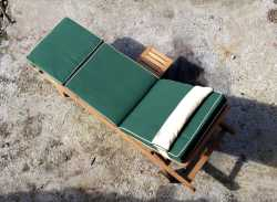 Hampton Sunlounger with Deluxe Cushion