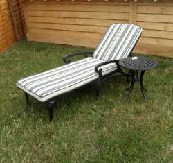 Broxden Sunlounger with Cushion