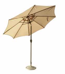 270cm Elite Natural Parasol