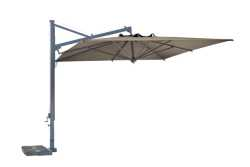 Galileo Parasol with Taupe Canopy, No Valance