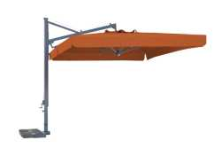 Galileo Parasol with terracotta Canopy and Valance