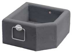 Set of 2 Heavy Weight Planters 150kg+ (Dark Colour)